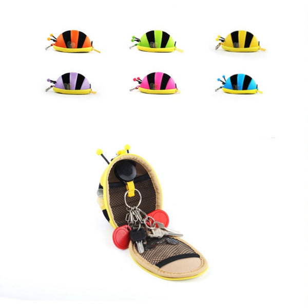 Bumble Bee Coin Bag Headphone Case | Cute Accessories & Gifts | Witty Novelty