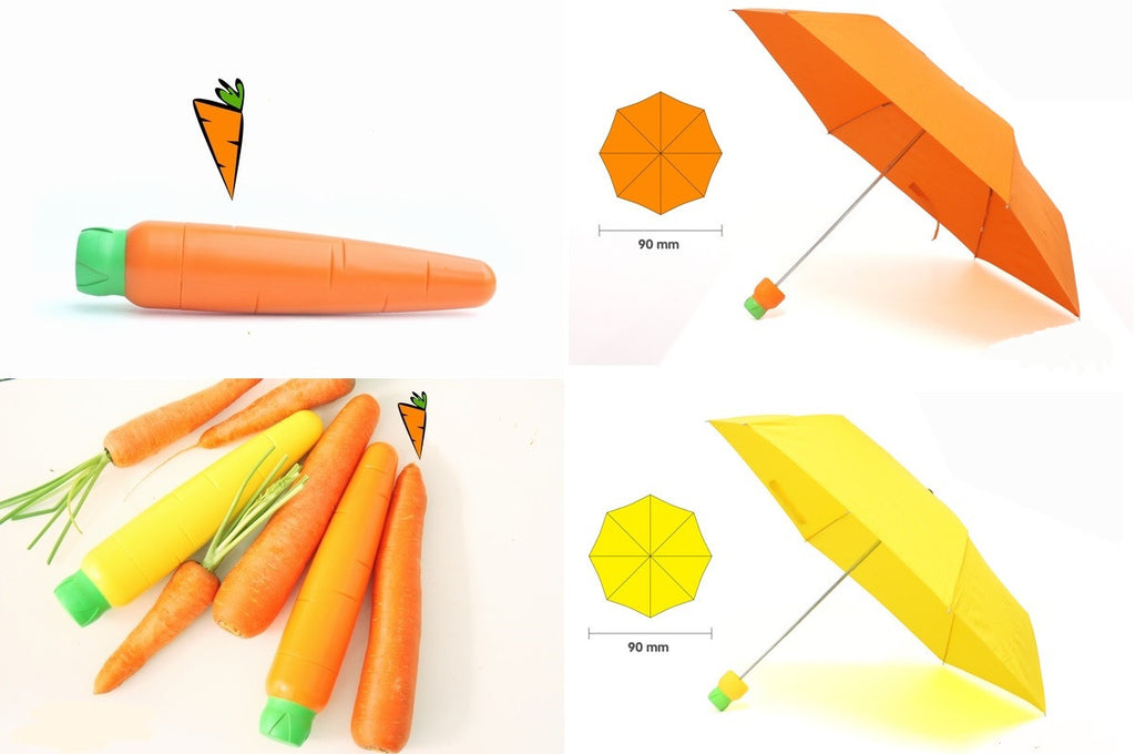 Carrot Umbrella | Unique Accessories & Gifts | Witty Novelty