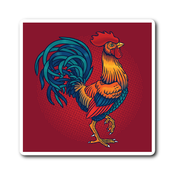 Proud Rooster Sticker | Stickers | Witty Novelty