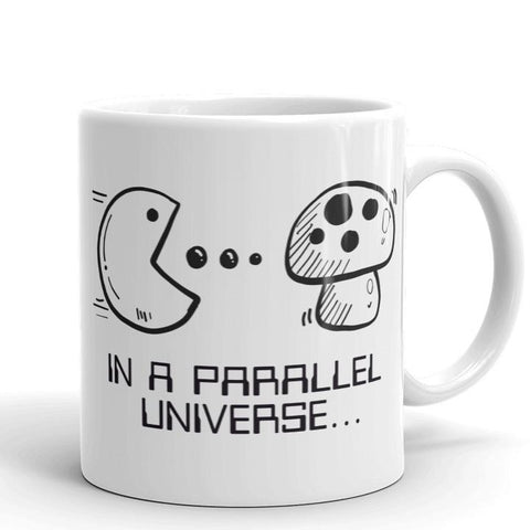 In A Parallel Universe Mug | Cool Gifts & Fun Mugs | Witty Novelty