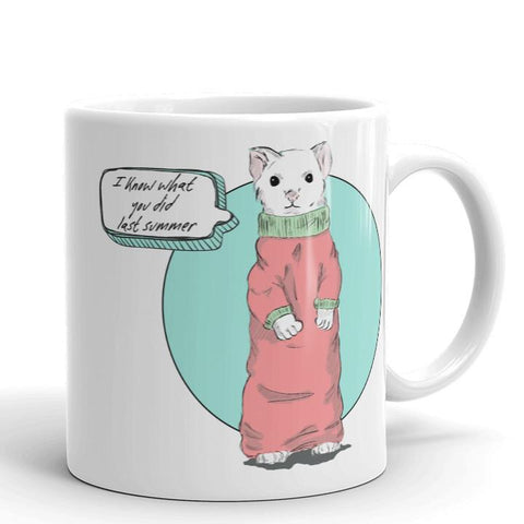 I Know What You Did Last Summer Mug | Cool Gifts & Fun Mugs | Witty Novelty