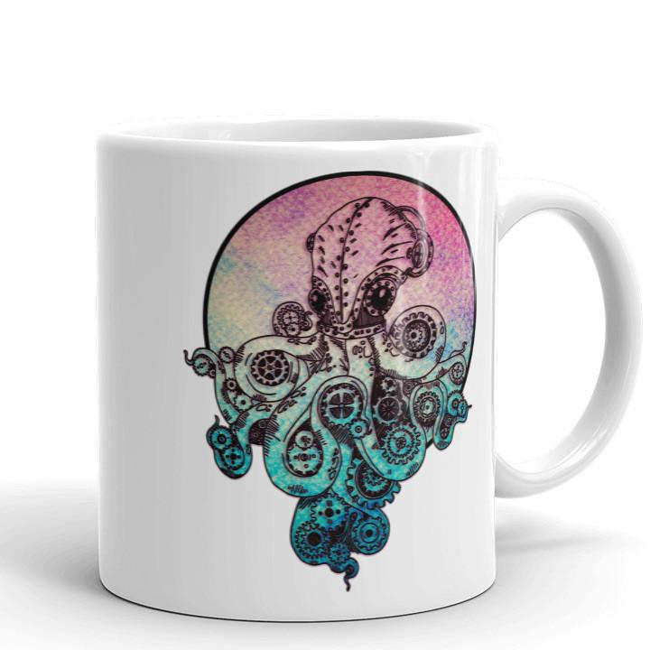 Steampunk Octopus Mug |  | Witty Novelty