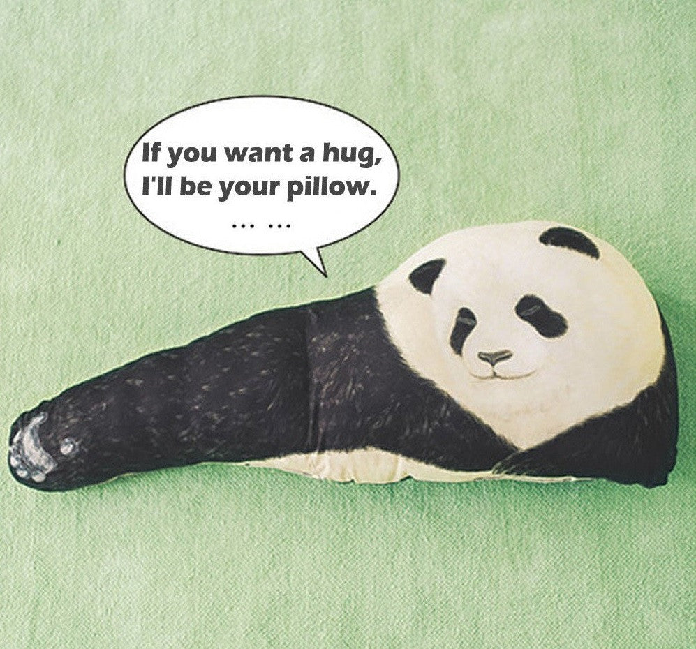 bear hug pillows home decor gifts for animal lovers witty novelty