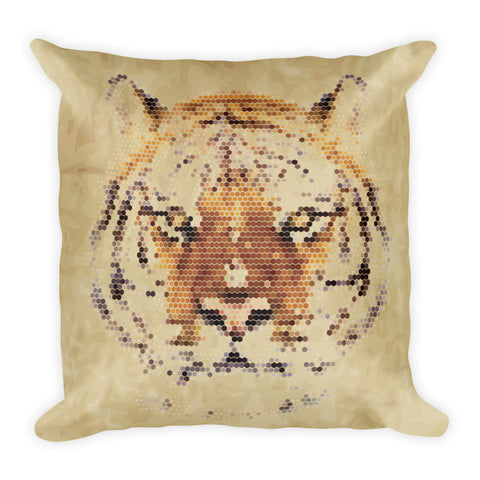 Pixel Animal Print Pillows | Unique Animal Throw Pillows | Witty Novelty
