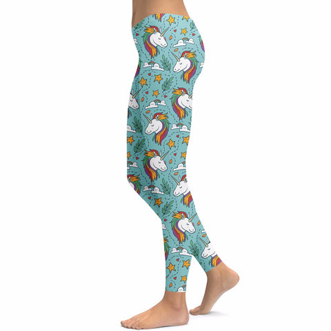 Unicorn Love Leggings | Leggings | Witty Novelty