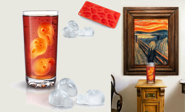 Scream Ice Tray | Unique Kitchen & Bar Accessories | Witty Novelty
