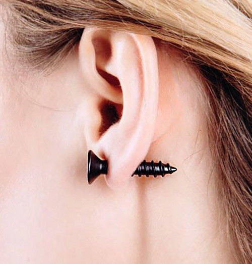 SCREW-MY-EAR EARRINGS | Unique Jewelry & Unisex Gifts - Witty Novelty