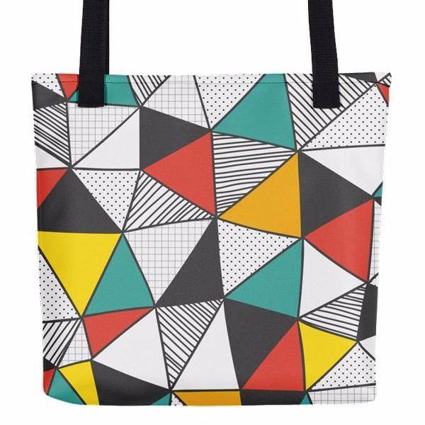 Geomania Tote Bag | Unique Bags & Unisex Gifts | Witty Novelty