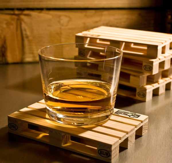 Pallet Coasters | Unique Home & Office Decor | Witty Novelty
