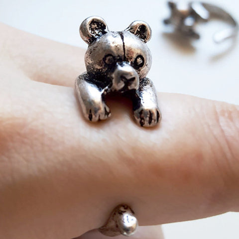 Teddy Bear Ring | Cute Gifts & Animal Jewelry | Witty Novelty