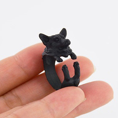 Welsh Corgi Puppy Ring | Animal Jewelry & Cute Gifts | Witty Novelty