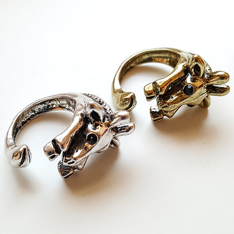 Baby Giraffe Ring | Animal Jewelry | Witty Novelty