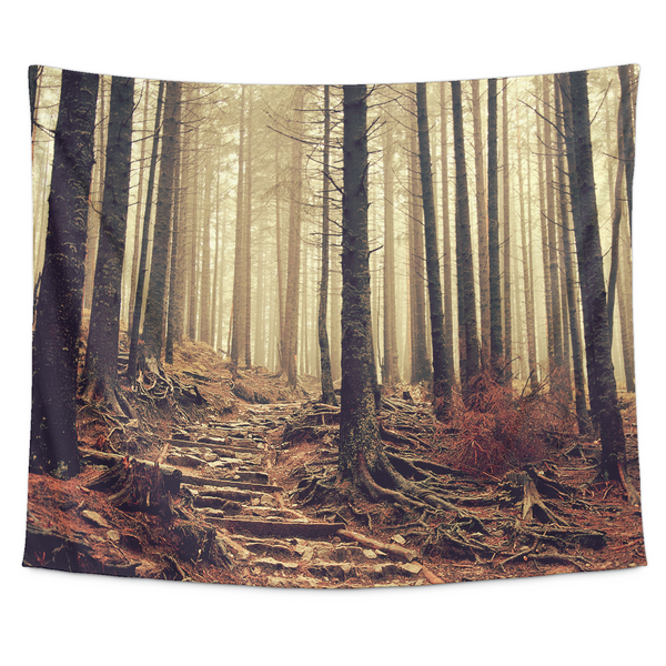 Into the Woods Nature Wall Tapestry | Tapestries | Witty Novelty