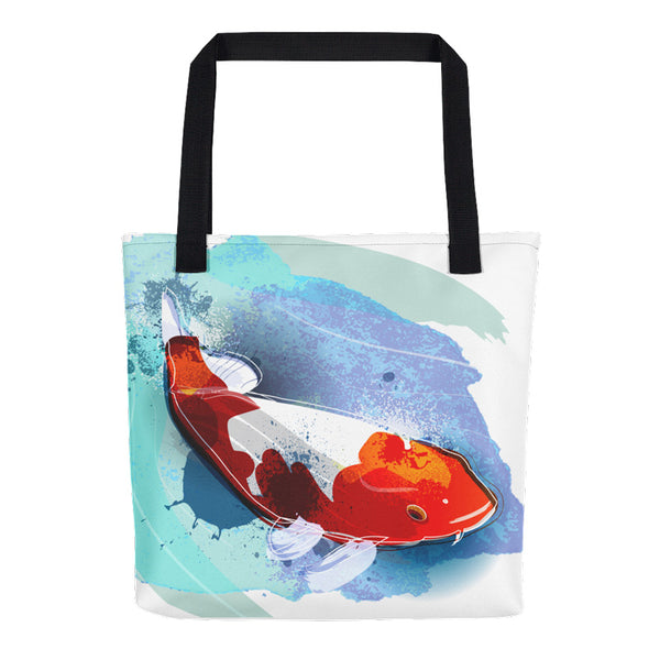 Koi Fish Tote Bag | Unique Bags & Unisex Gifts | Witty Novelty