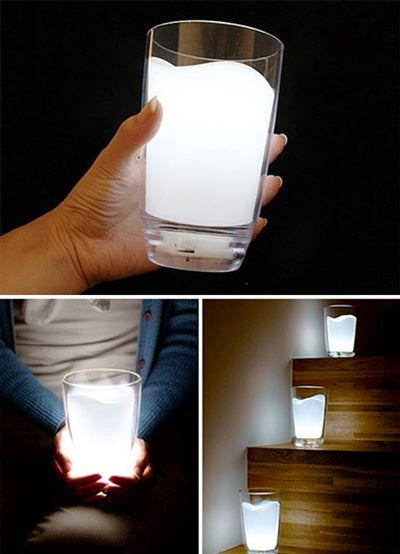 Glass Of Milk Lamp | Unique Night Lamps | Witty Novelty