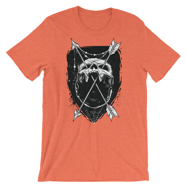 Skull and Arrows Short-Sleeve Unisex T-Shirt