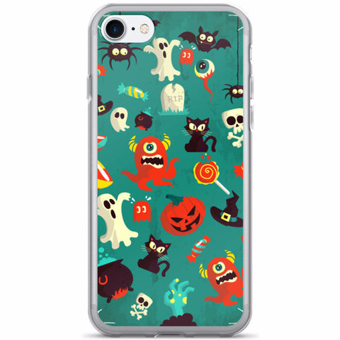 Spooky Tunes iPhone 7/7 Plus Case