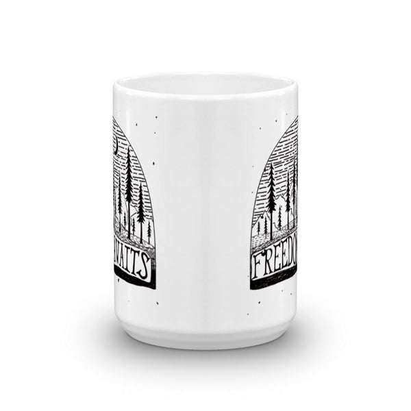 Freedom Awaits Mug | Cool Gifts & Fun Mugs | Witty Novelty