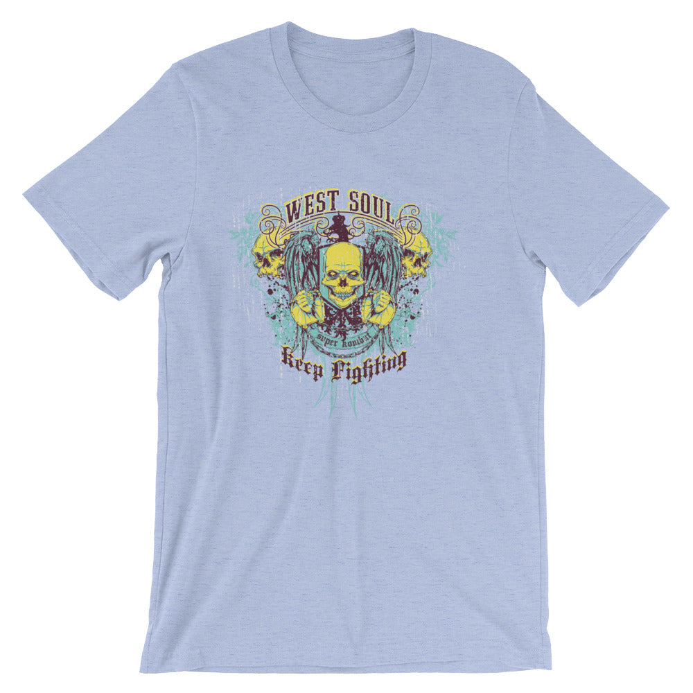 Keep Fighting Short-Sleeve Unisex T-Shirt