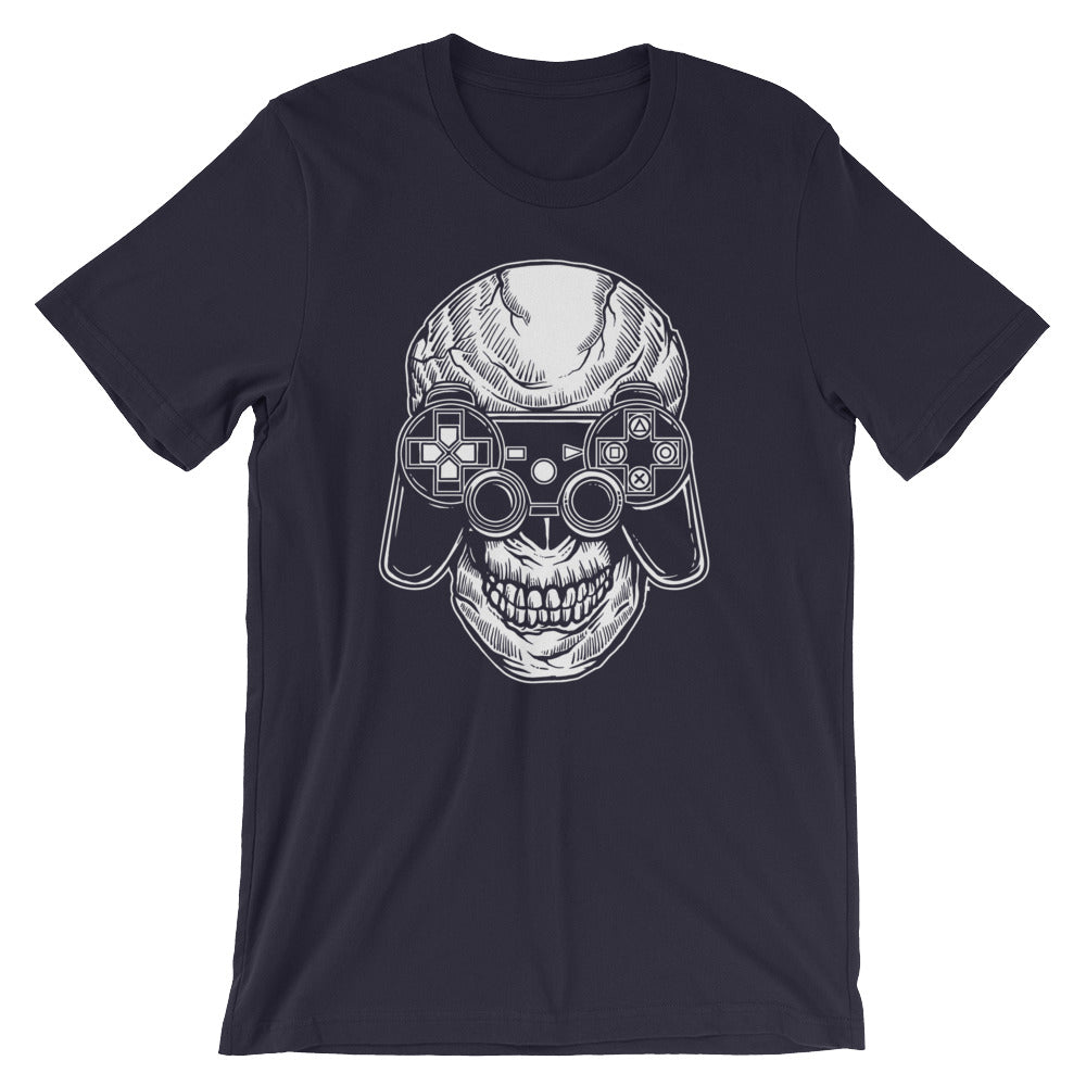 Gamer Skull Short-Sleeve Unisex T-Shirt |  | Witty Novelty