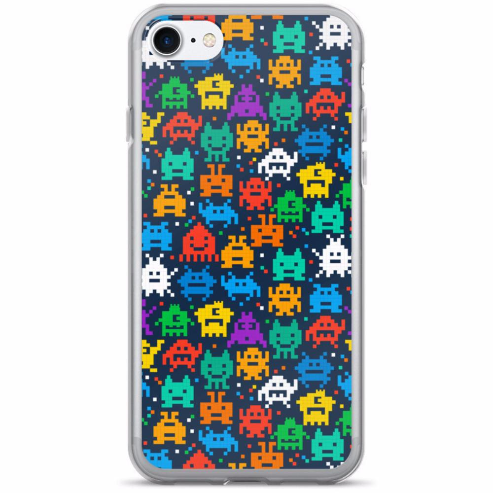 Pixel Monsters iPhone 7/7 Plus Case | Phone Case | Witty Novelty