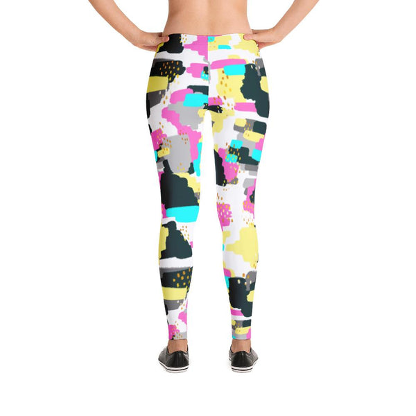 Abstract Doodle Leggings | Leggings | Witty Novelty