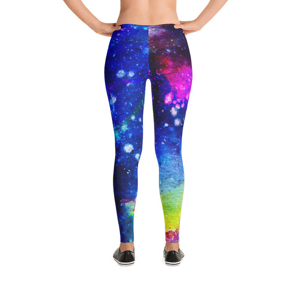 Deep Galaxy Leggings | Leggings | Witty Novelty