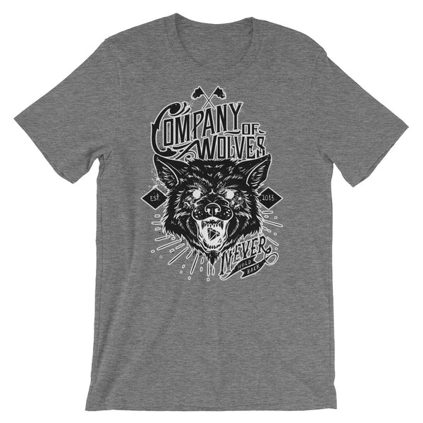 Company of Wolves Short-Sleeve Unisex T-Shirt |  | Witty Novelty