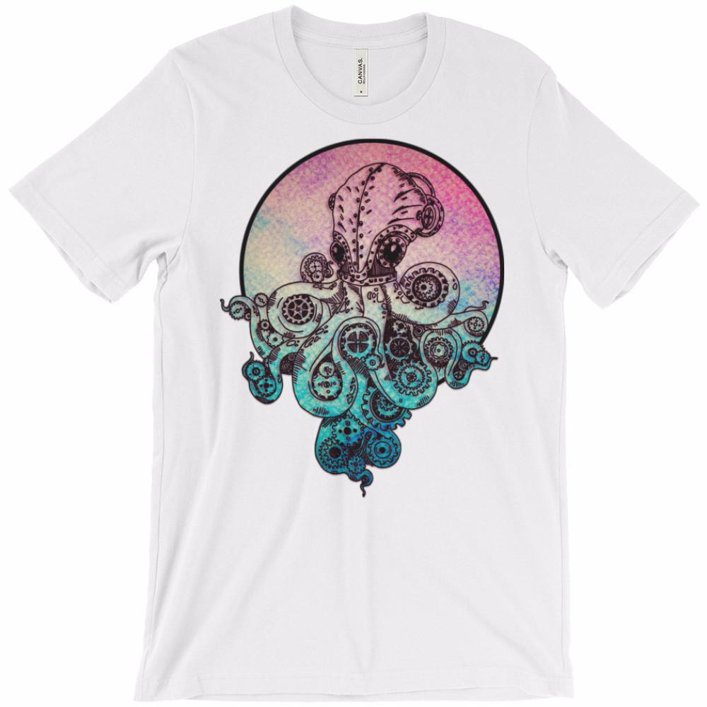 Steampunk Octopus Unisex T-Shirt | Shirts | Witty Novelty