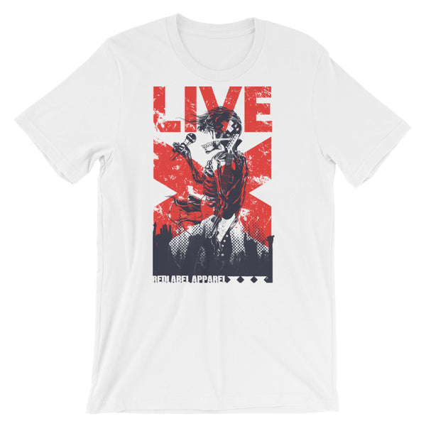 Live Short-Sleeve Unisex T-Shirt |  | Witty Novelty