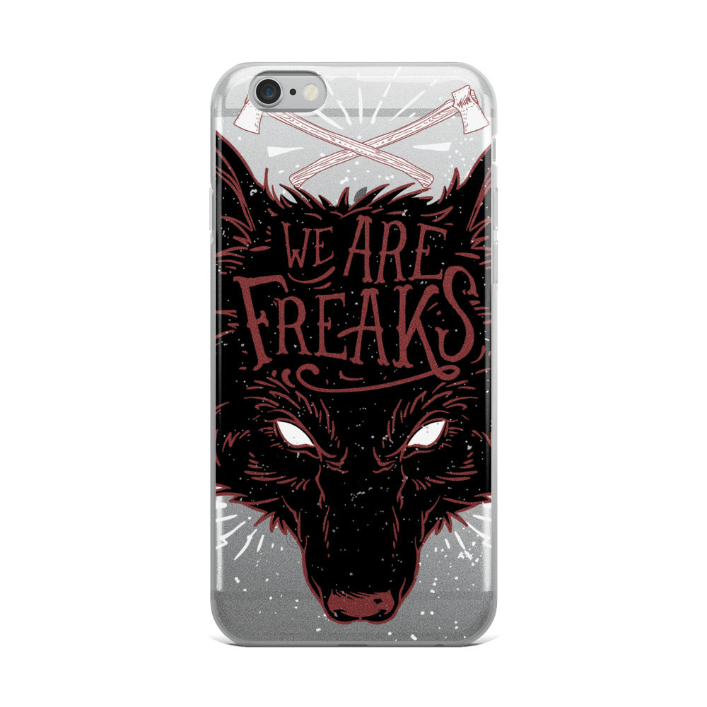 We Are Freaks iPhone Case