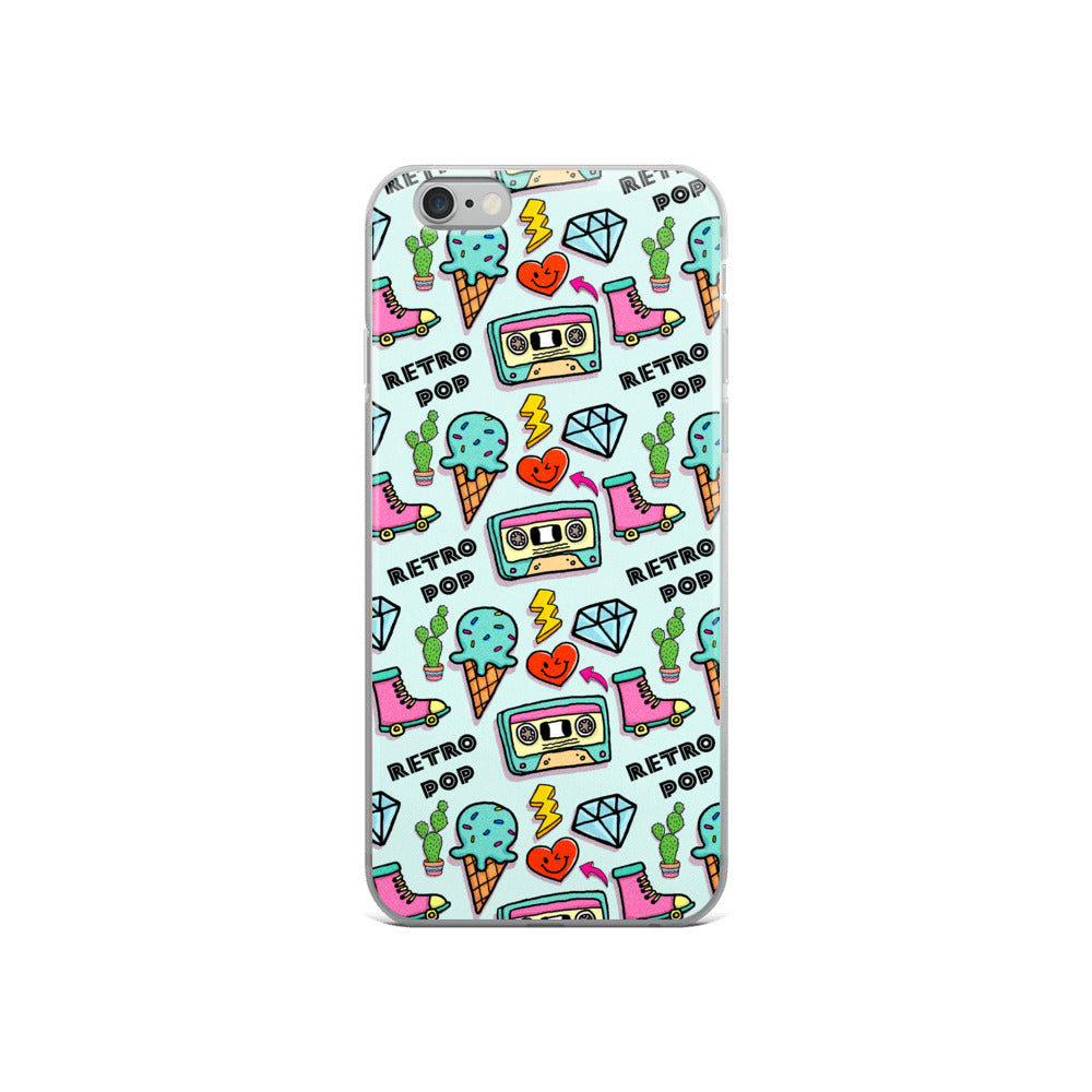 Retro Pop iPhone Case