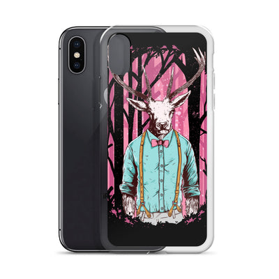 Hipster Deer iPhone Case | Phone Case | Witty Novelty