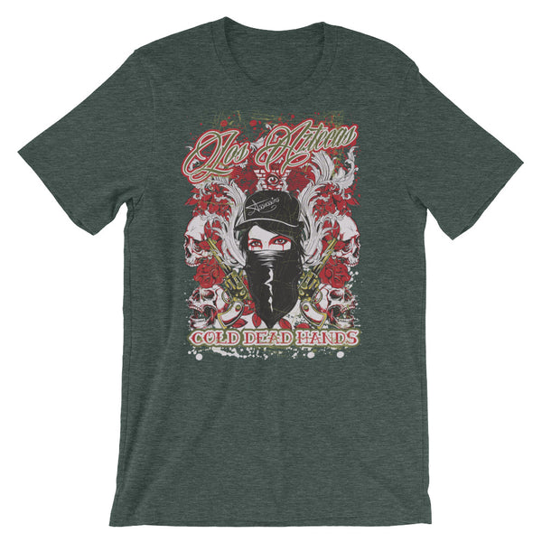 Los Aztecas Short-Sleeve Unisex T-Shirt |  | Witty Novelty
