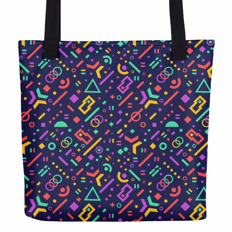Geometry Fever Tote Bag | tote bags | Witty Novelty