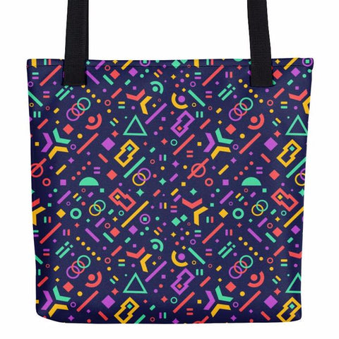 Geometry Fever Tote Bag