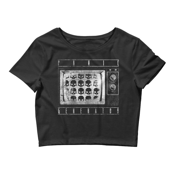 Panic Generator Women's Crop Top