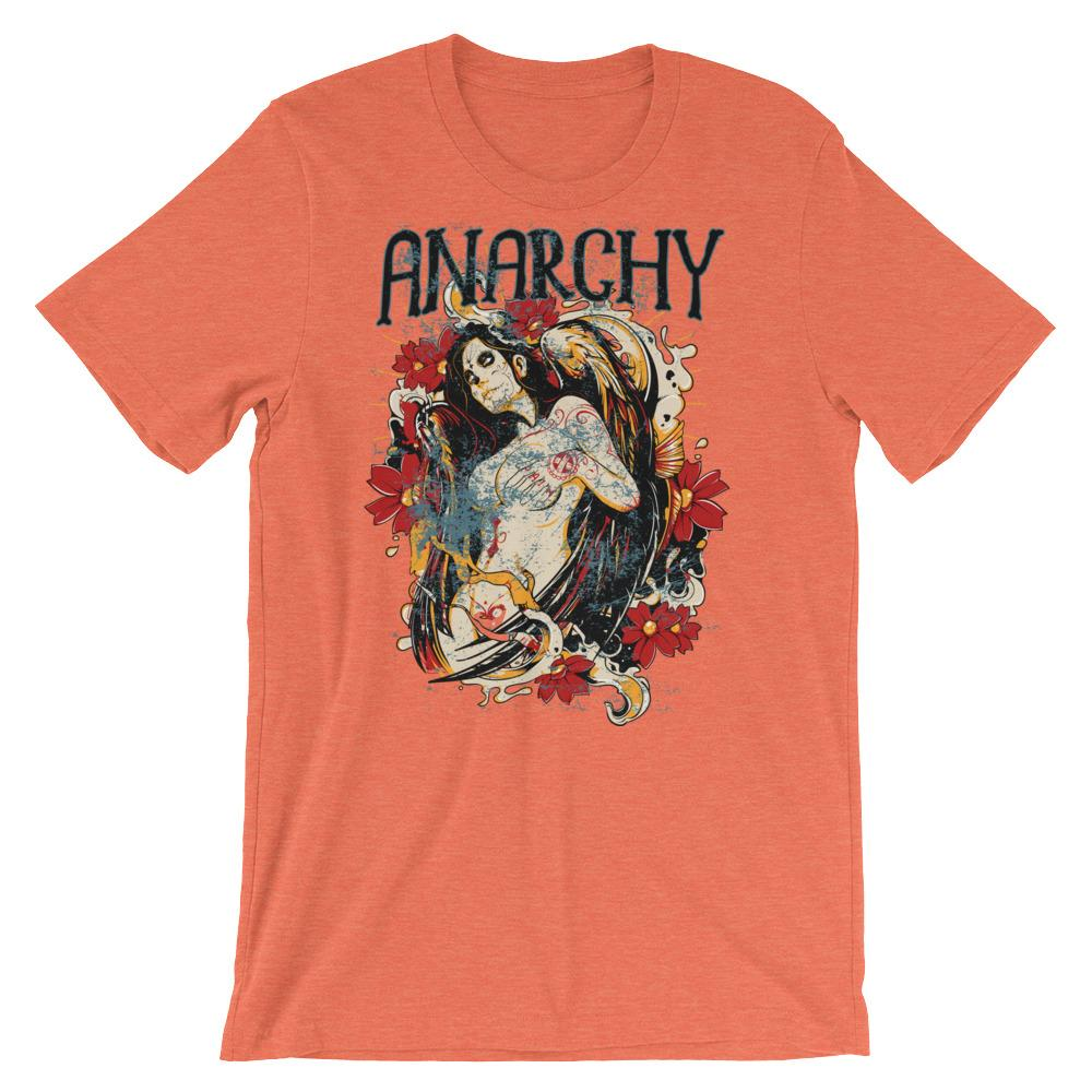 Anarchy Angel Short-Sleeve Unisex T-Shirt |  | Witty Novelty