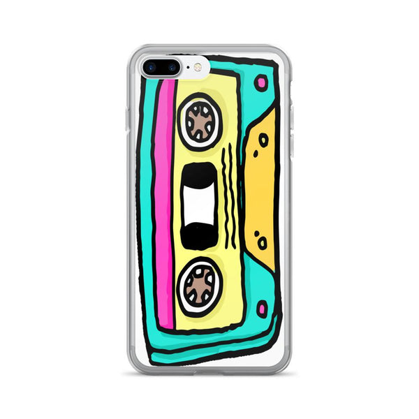 Retro Cassette iPhone 7/7 Plus Case | Phone Case | Witty Novelty