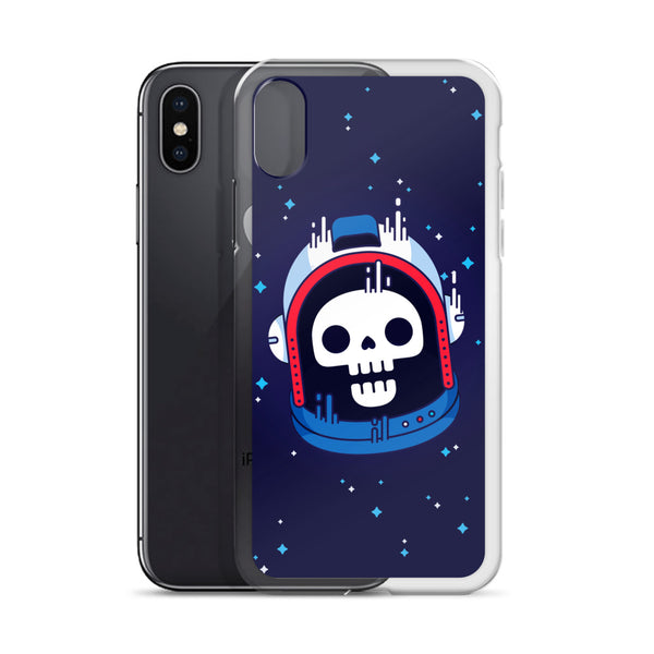 Astronaut Skull iPhone Case | Phone Case | Witty Novelty