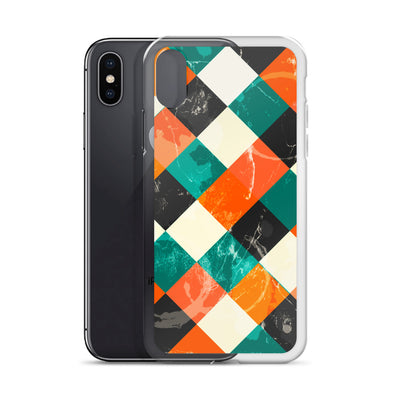 Grunge Tiles iPhone  Case | Phone Case | Witty Novelty