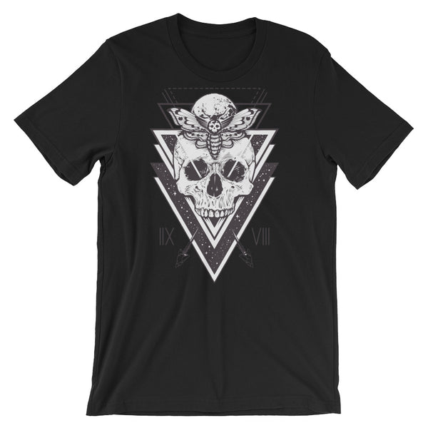 Death Moth #1 Short-Sleeve Unisex T-Shirt |  | Witty Novelty
