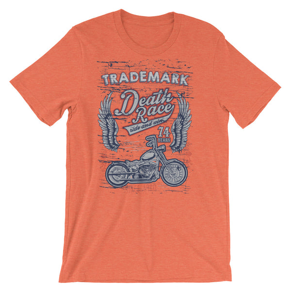 Death Race Trademark Short-Sleeve Unisex T-Shirt |  | Witty Novelty
