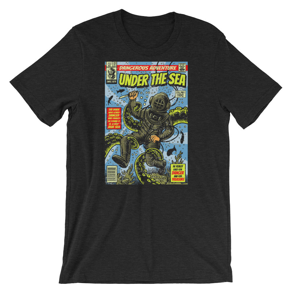 Comic Book Series: Under The Sea Short-Sleeve Unisex T-Shirt |  | Witty Novelty