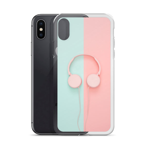 Pastel Headphones iPhone Case |  | Witty Novelty