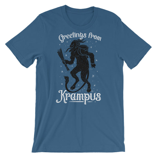 Krampus Welcomes You Short-Sleeve Unisex T-Shirt |  | Witty Novelty