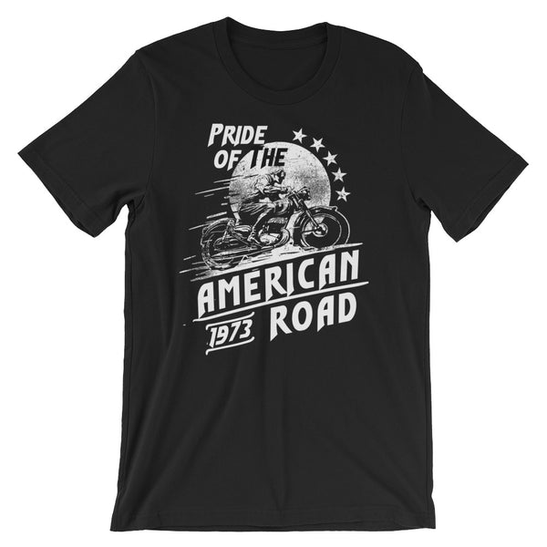 Classic Series: Pride Of The American Road Short-Sleeve Unisex T-Shirt |  | Witty Novelty