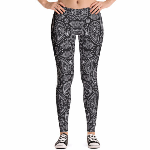 Dark Boho Pattern Leggings