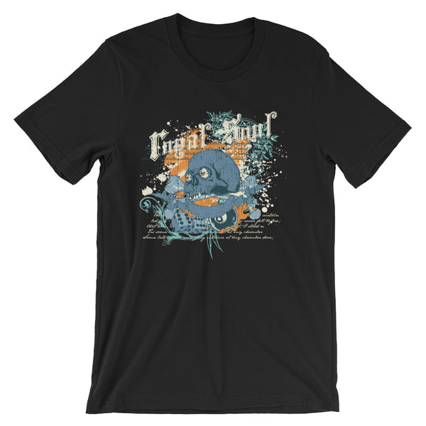 Royal Soul Short-Sleeve Unisex T-Shirt |  | Witty Novelty