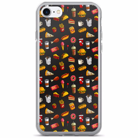 Fast Food Madness iPhone 7/7 Plus Case | Phone Case | Witty Novelty